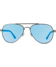 Revo Re1011 raconteur Rotguss - blaues Wasser polarisierte Sonnenbrille