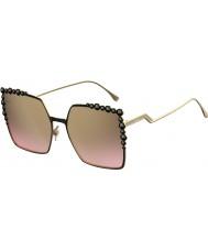 Fendi Damen ff 0259-s 2o5 53 Sonnenbrille