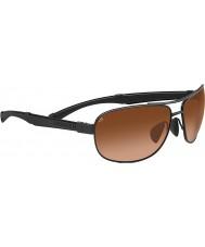 Serengeti Norcia schwarze Steigung Sonnenbrille Treiber