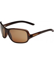 Bolle Kassia glänzende Schokolade polarisiert Sandstein Pistole Sonnenbrille