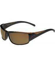 Bolle Keelback glänzend braun polarisiert ag-14 Sonnenbrille