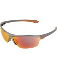 Cebe Cinetik großen metallischen Sonnenbrille grau