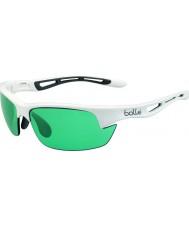 Bolle Bolt glänzend weiß competivision Pistole Tennis Sonnenbrillen