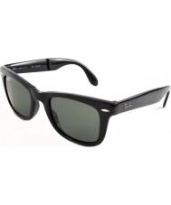 RayBan RB4105 50 Falten Wayfarer schwarz 601-58 polarisierten Sonnenbrillen