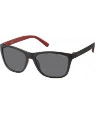 Polaroid Herren pld3011-s llq y2 schwarz rot polarisierten Sonnenbrillen