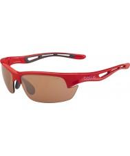 Bolle Rote Sonnenbrille mit 12008 Bolzen