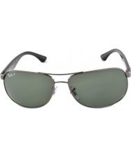 RayBan Rb3502 61 Highstreet Rotguss 004-58 polarisierten Sonnenbrillen