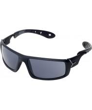 Cebe Ice 8000 mattschwarze Sonnenbrille grau