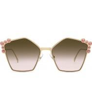 Fendi Damen ff0261 s 0 53 57 kann eine Sonnenbrille