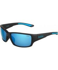Bolle 12368 kayman schwarze Sonnenbrille