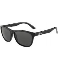 Bolle 437 Retro Sammlung glänzend schwarz polarisierten Sonnenbrillen tns