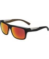 Bolle 11828 clint schwarze Sonnenbrille