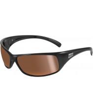 Bolle 11054 Rückstoß schwarze Sonnenbrille