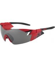 Bolle 6. Sinn matt rot schwarz tns Pistole Sonnenbrille