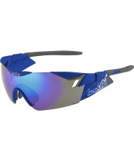 Bolle 6. Sinn s matt marineblau-violette Sonnenbrille