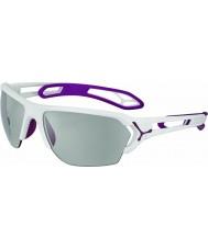 Cebe Cbstl14 S-Track l weiße Sonnenbrille