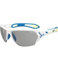 Cebe Cbstl8 s-track l weiße Sonnenbrille