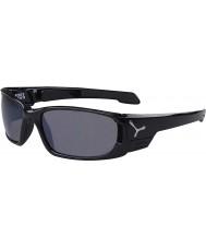 Cebe S-Kap kleine schwarze Sonnenbrille
