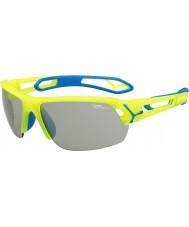 Cebe Cbstmpro s-track m gelbe Sonnenbrille
