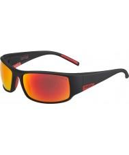 Bolle 12421 König schwarze Sonnenbrille
