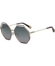 Chloe Damen ce132s 240 58 Mohn Sonnenbrille