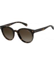 Polaroid Damen pld 6043 s 086 la 51 Sonnenbrille