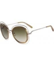 Chloe Damen ce123s carlina glänzendes Gold Sonnenbrille