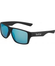Bolle 12432 brecken schwarze Sonnenbrille
