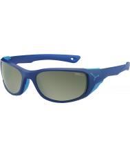 Cebe Jorasses Medium matt dunkelblau variochrom Spitze Flash Spiegel Sonnenbrille