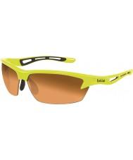Bolle Bolt neongelb Modulator amber Sonnenbrille