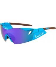 Bolle 6. Sinn AG2R glänzend braun blau-violette Sonnenbrille