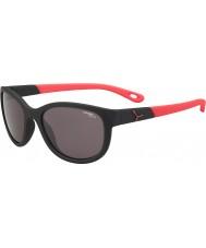 Cebe Katniss (Alter 7-10) matt schwarz pink 1500 grau Sonnenbrille blaues Licht