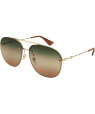 Gucci Herren gg0227s 004 62 Sonnenbrille