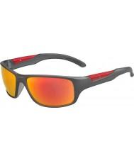 Bolle 12441 Vibe graue Sonnenbrille