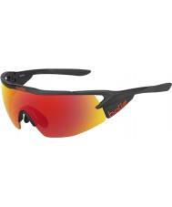 Bolle 12444 Aeromax schwarze Sonnenbrille