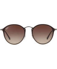 RayBan Blaze runde rb3574n 59 004 13 Sonnenbrille