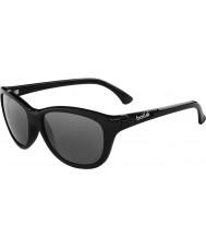 Bolle Greta glänzend schwarz polarisierten Sonnenbrillen tns