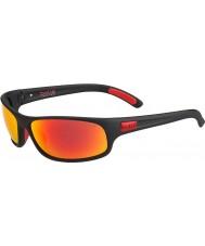 Bolle 12447 Anaconda schwarze Sonnenbrille