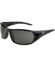 Bolle Blacktail glänzend schwarz polarisierten Sonnenbrillen tns