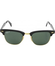 RayBan RB3507 Clubmaster Aluminum