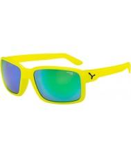 Cebe Geck neon-gelb grün Sonnenbrille