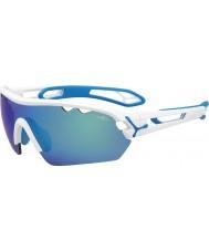 Cebe Cbmonom2 s-track mono m weiße Sonnenbrille