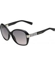 Jimmy Choo Damen alana-s d28 eu glänzend schwarze Sonnenbrille