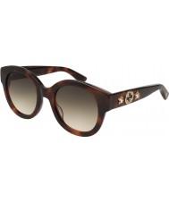 Gucci Damen gg0207s 002 51 Sonnenbrille
