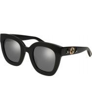 Gucci Damen gg0208s 002 49 Sonnenbrille