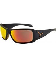 Cebe Utopy matt schwarz orange Sonnenbrillen