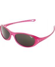 Cebe Gecko (Alter 5-7) glänzend rosa undurchsichtig, 2000 grau Sonnenbrille