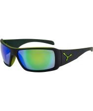 Cebe Utopy matt schwarz grün Sonnenbrille