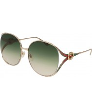 Gucci Damen gg0225s 003 63 Sonnenbrillen
