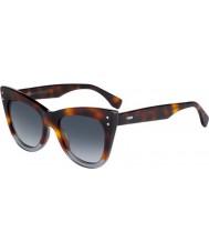 Fendi Damen ff 0238-s ab8 9o Sonnenbrille